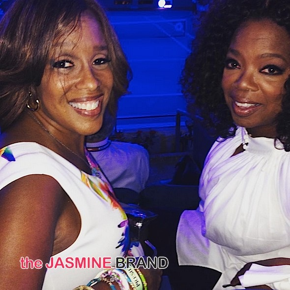 Oprah & Gayle King Hit US Open, Brandy Films 'Zoe Ever After', Ciara & Russell Wilson Visit Sick Children + Meagan Good, Patti Labelle, Chaka Khan [Photos]
