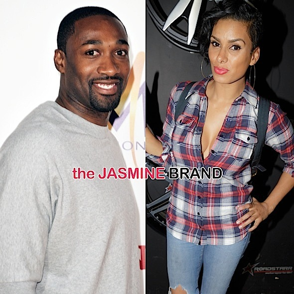 Gilbert Arenas & Laura Govan Are In Co-Parenting Class