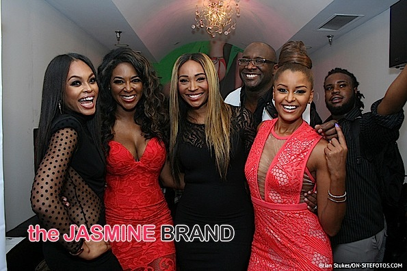 Demetria McKinney & Kandi Burruss Host Video Premiere: Kenya Moore, Cynthia Bailey, Claudia Jordan, Kim Fields Attend! [Photos]