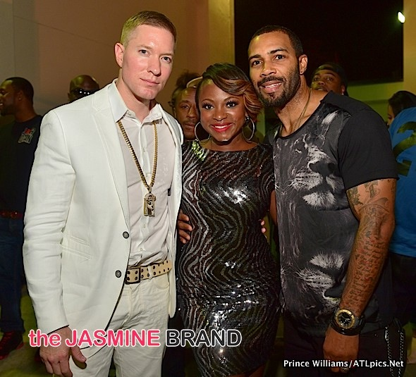 Power's Joe Sikora, Naturi Naughton, Omari Hardwick