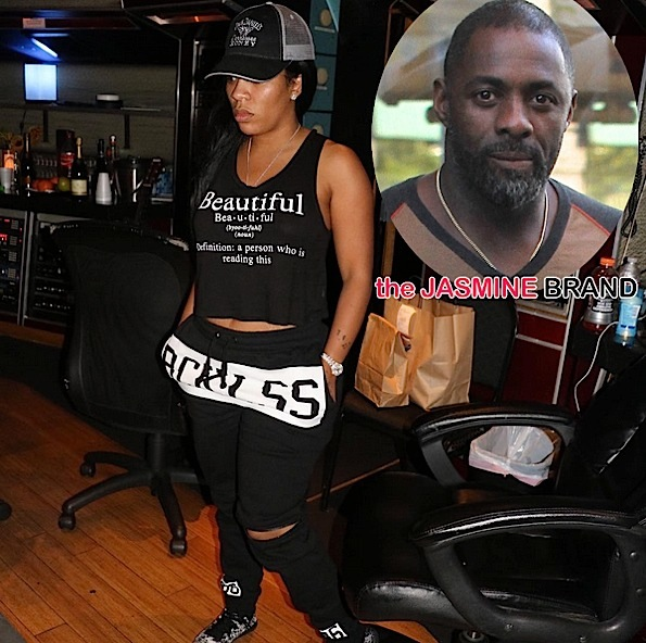 KMichelle-New Album-Idris Elba-the jasmine brand