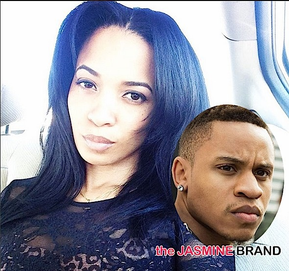 Karrine Steffans Hints That Power Actor Rotimi Fathered Unborn Child-the jasmine brand
