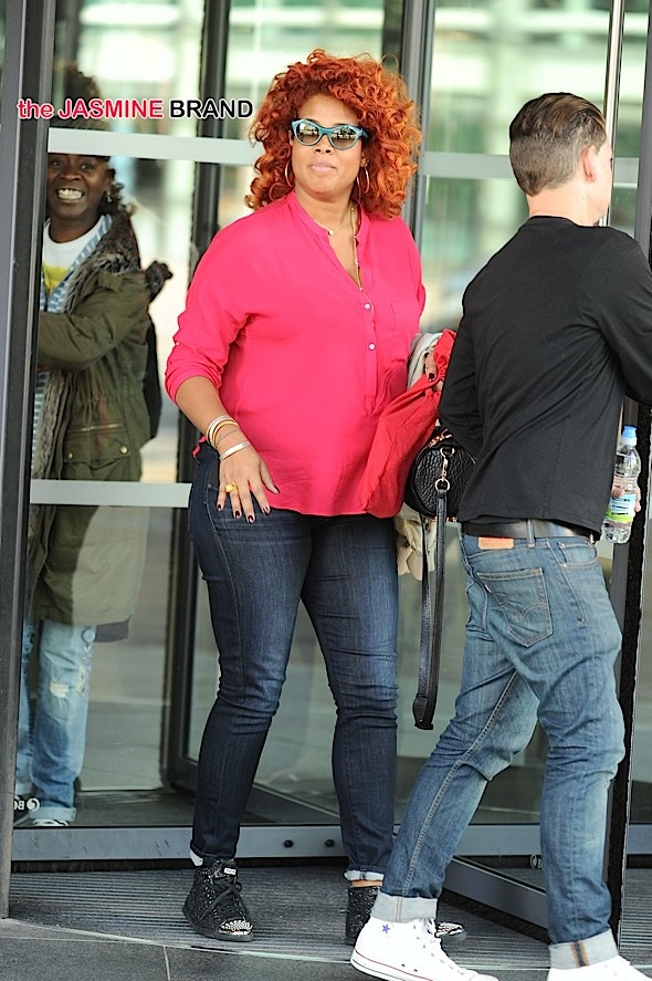 Kelis out and about Manchester UK
