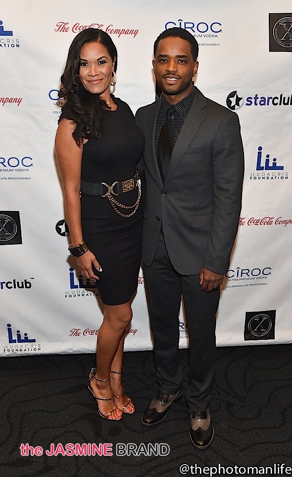 Larenz Tate and wife Tomasina Parrott-the jasmine brand