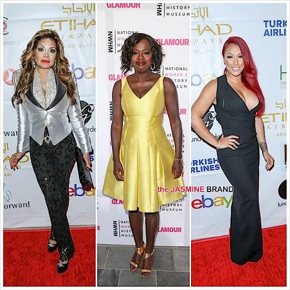 LaToya Jackson, Viola Davis, Shantel Jackson