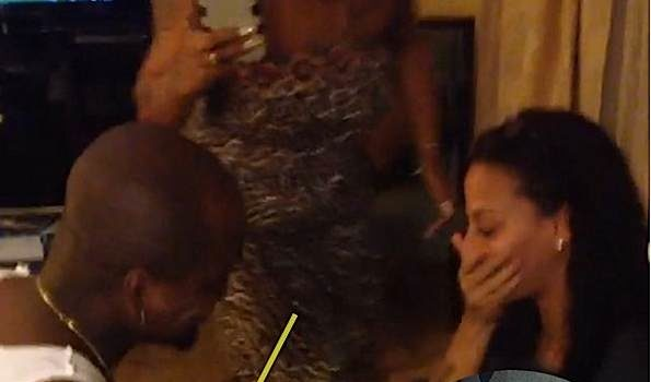 NeYo Re-Proposes to Fiancee Crystal Renay, See the Romantic Video! [VIDEO]