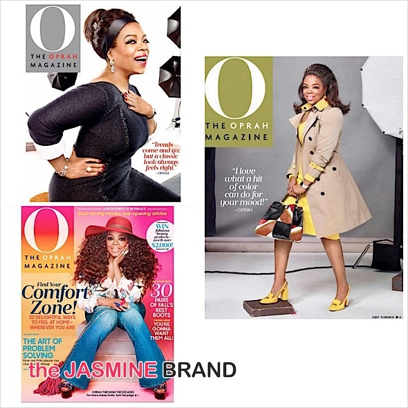 Oprah Channels Fashion Icons With 3 Covers For 'O' [Photos]
