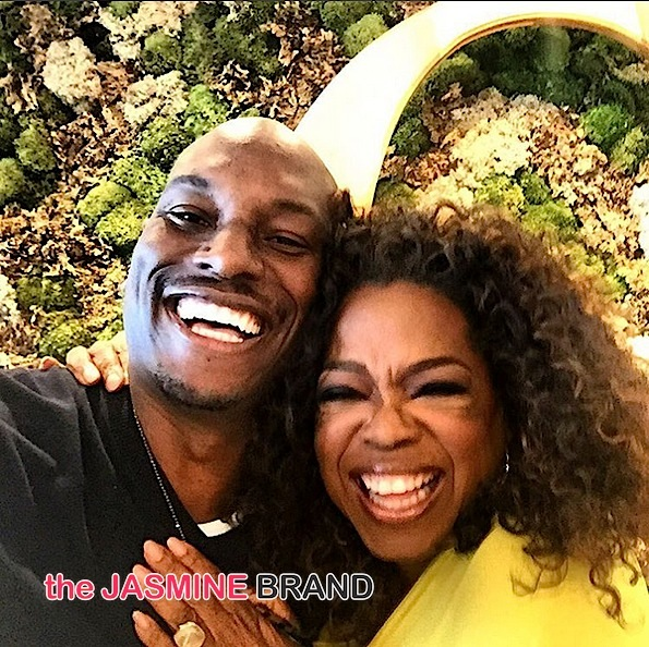 Oprah Preps For New Show With Tyrese & Rev Run: 'It's Not You, It's Men'