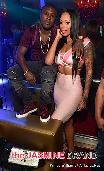 Boxer Andre Berto Parties in ATL With Jeezy & LHHA's Bambi [Photos]