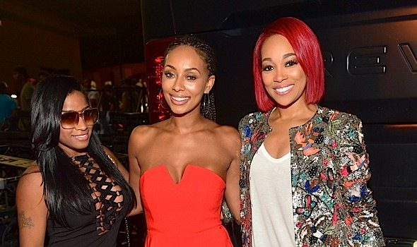 Keri Hilson, Toya Wright, Young Thug & More Famous Folk Hit Chris Brown's Concert [Photos]