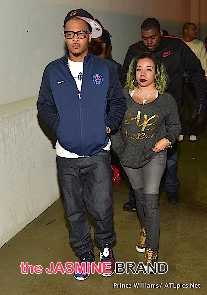 T.I. & Tameka 'Tiny' Harris Party At ATL's Compound [Spotted. Stalked. Scene.]