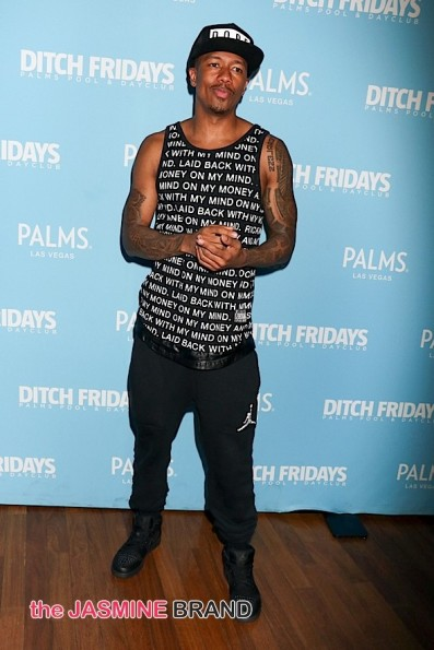 Nick Cannon Spins at Ditch Fridays at Palms Pool & Dayclub in Las Vegas on September 11, 2015
