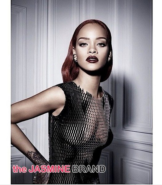 See Rihanna's Edgy Dior Shoot! [Photos]
