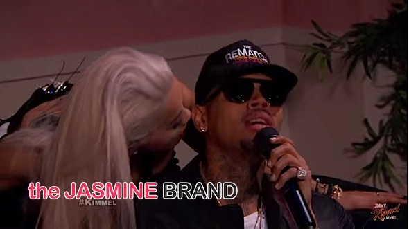 "Rita Ora & Chris Brown Perform ""Body On Me"" On Jimmy Kimmel Live! [VIDEO]"