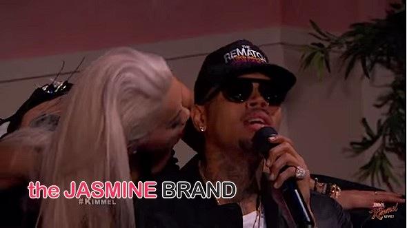 "Rita Ora & Chris Brown Perform ""Body On Me"" On Jimmy Kimmel Live! [VIDEO]"