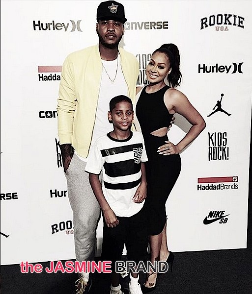 Lala Prepping To Divorce Carmelo Anthony, Working On Temporary Custody For Son