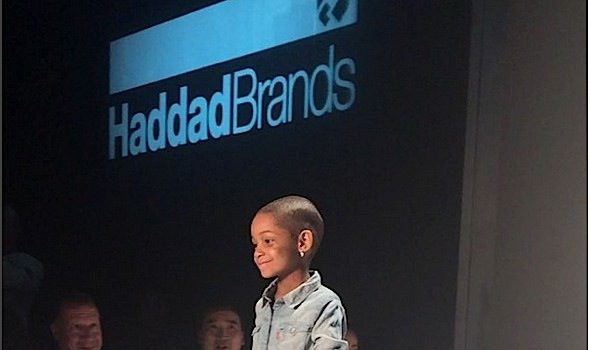 Leah Still Hits the Catwalk at NYFW With Famous Kids of Lala Anthony, Victor Cruz & Fabolous [Photos]