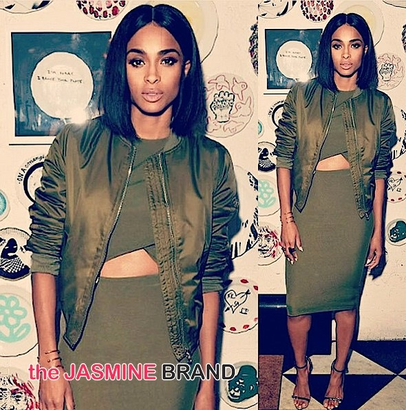 Ciara Celebrates New Topshop Gig With Supermodels Jourdan Dunn & Iman [Photos]