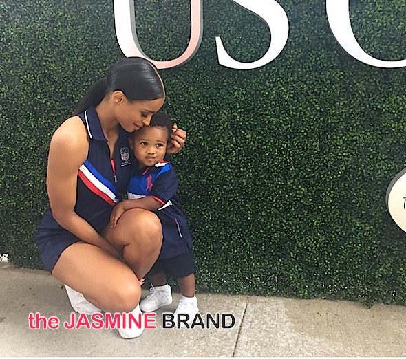 Ciara Performs 'God Bless America' At US Open, Brings Baby Future [VIDEO]