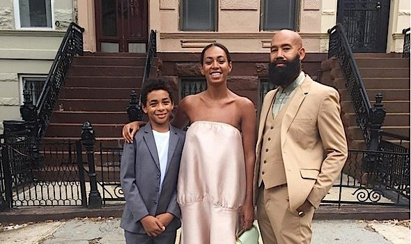 Solange Gets Fly With Son & Hubby, Lala & Serena Williams Dine Out, Magic Johnson & Michael Jordon Pose For Insta + J.Hud, Miguel, Common, Ciara