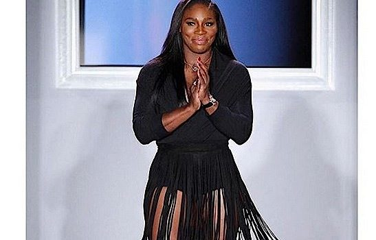 Serena Williams Presents Collection at NYFW, Rumored Boyfriend Drake Sits Front Row [Photos]
