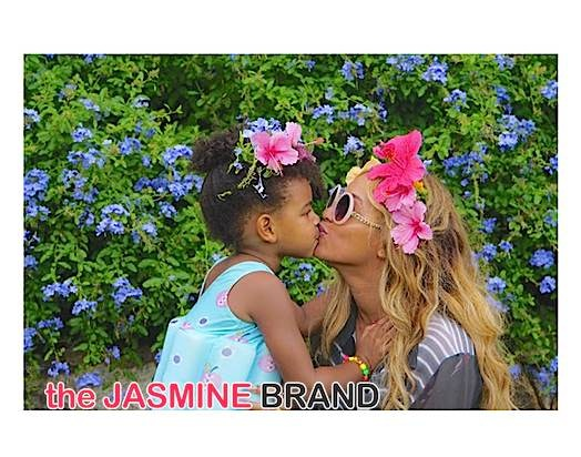 Celebrity Stalking: Blue Ivy, Beyonce, Nicki Minaj, Sidney Poitier, Garcelle Beauvais, Angela Simmons, Jay Z [Photos]