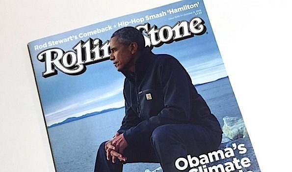 Barack Obama Talks Climate Changes With 'Rolling Stone'