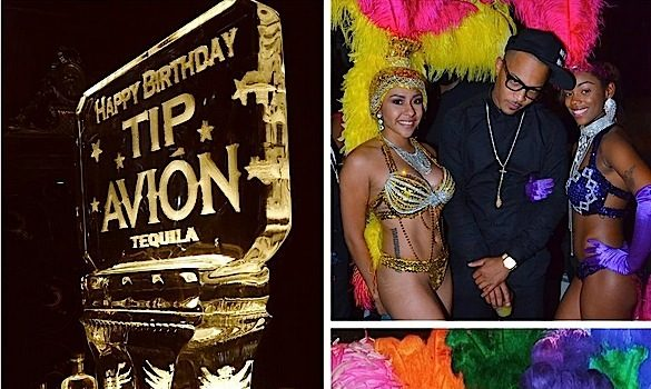 T.I. Celebrates 35th Birthday With Huge Carnivale Theme Bash! [Photos]
