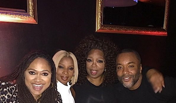 Celebrity Stalking: Oprah, Lee Daniels, Mary J. Blige, Ava DuVernay, Kelly Rowland, Tina Knowles, Kim Kardashian [Photos]