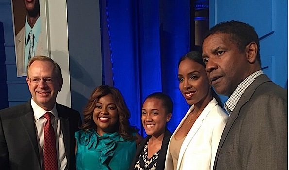 Denzel Washington, Kelly Rowland, Timbaland, Sherri Shepherd Celebrate Boys & Girls Club