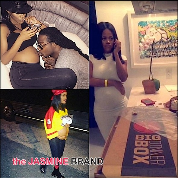 Teyana Taylor's Pregnancy Won't Hinder Music Career: The work does not stop! [Ovary Hustlin']