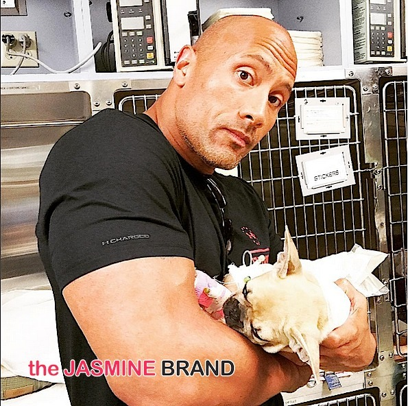 The Rock Shares Tear Jerking Post About Dog's Death: We'll always love you Brutus.