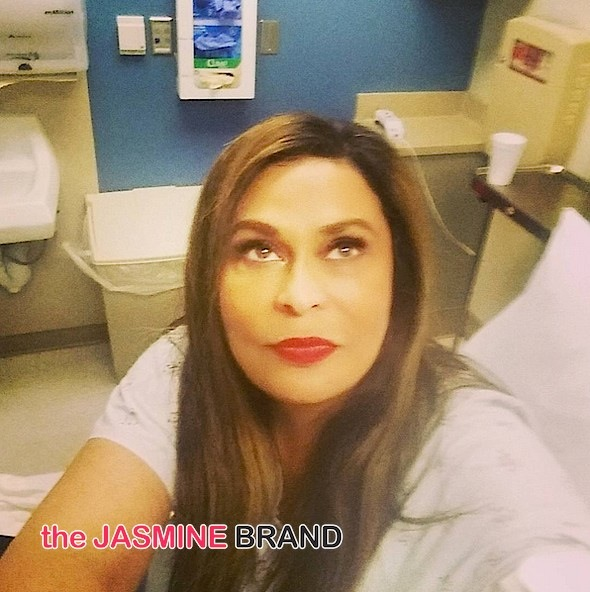 Tina Knowles Lawson-Hospitalized Asthma Attack-the jasmine brand