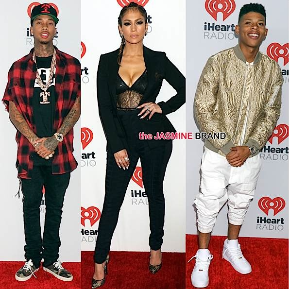 iHeart Radio Music Festival: J.Lo, Tyga, Nick Jonas, Tori Kelly, Sam Smith, Machine Gun Kelly, Bryshere Gray Attend [Photos]