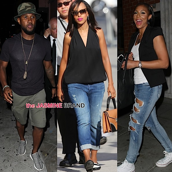 Celebrity Stalking: Usher, Kerry Washington, Tamar Braxton, Daphne Wayans, Terry Crews, Keith Robinson, Marlon Yates Jr, Leslie David Baker [Photos]