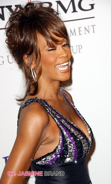 Whitney Houston circa 2008