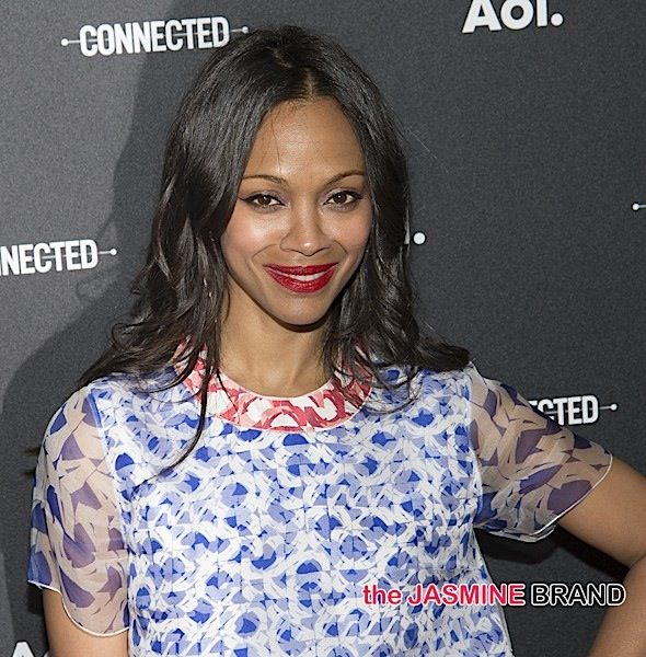 Zoe Saldana Says Hollywood Bullied Trump