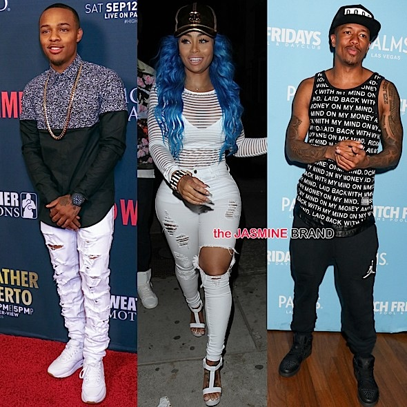 Shad Moss (Bow Wow), Blac Chyna, Nick Cannon