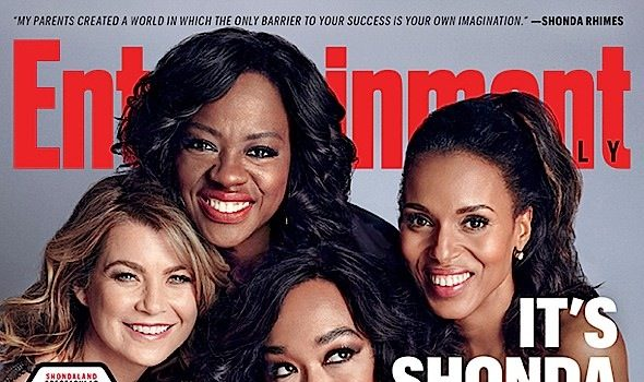Shonda Rhimes & Her Leading Ladies On Working For A Female Showrunner, Colorism in Entertainment & Having Gladiator Parents + See Their Entertainment Weekly Covers!
