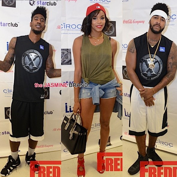 Chris Brown, Iman Shumpert, Nick Young, Omarion, Laura Govan Ball Out For Luda's Celeb Basketball Game [Photos]