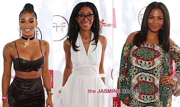 Nia Long, Tyrese, Stevie J & Joseline Hernandez, Tasha Smith, Tina Lawson, John Singleton Attend Robi Reed 'Sunshine Beyond Summer Celebration' [Photos]
