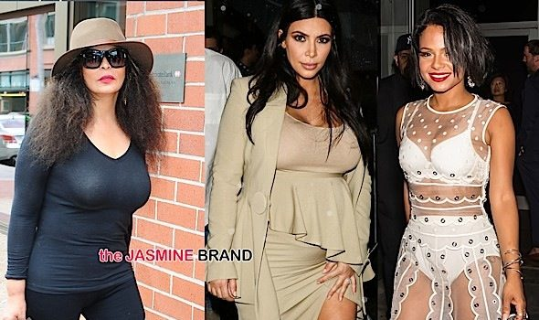 Celebrity Stalking: Rihanna, Travis Scott, Kim Kardashian, Kanye West, Solange Knowles, Tina Knowles, NeNe Leakes, Christina Milian [Photos]