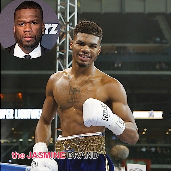 (EXCLUSIVE) 50 Cent Fires Back at Boxer's Attempt to Void Contract w/ Promotion Company