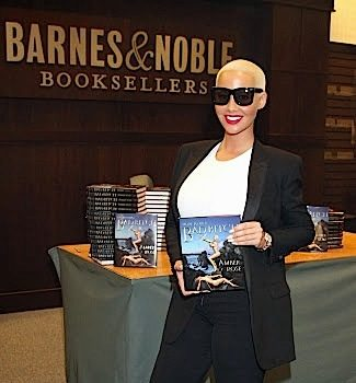 Amber Rose Hosts 'How To Be A Bad B*tch' Signing in LA [Spotted. Stalked. Scene.]