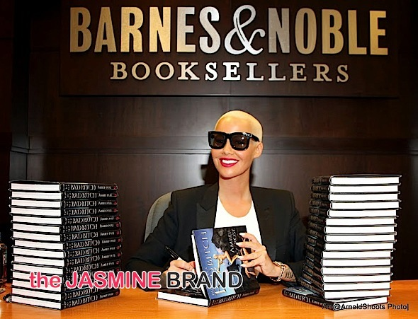 Amber Rose Book Signing-the jasmine brand