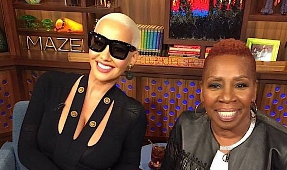 Amber Rose Talks Boobs, Nasty Rumors About Her Son + Iyanla Vanzant Doesn't Keep In Touch With DMX Nor Sheree Whitfield [VIDEO]