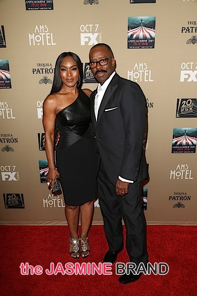 Angela Bassett, Husband Courtney B. Vance