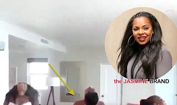 Twerk What Ya Mama Gave Ya! See Ashanti, Sister & Mother's Dance Routine [VIDEO]