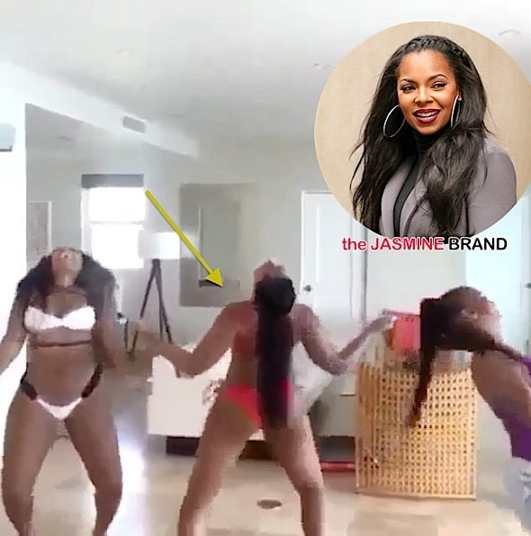 Twerk What Ya Mama Gave Ya! See Ashanti, Sister & Mother's Dance Routine [VIDEO]