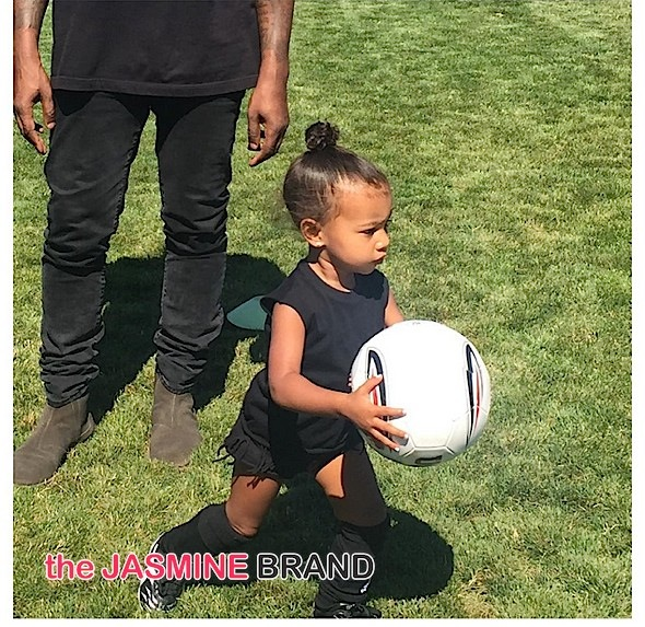Baby North West Soccer-the jasmine brand